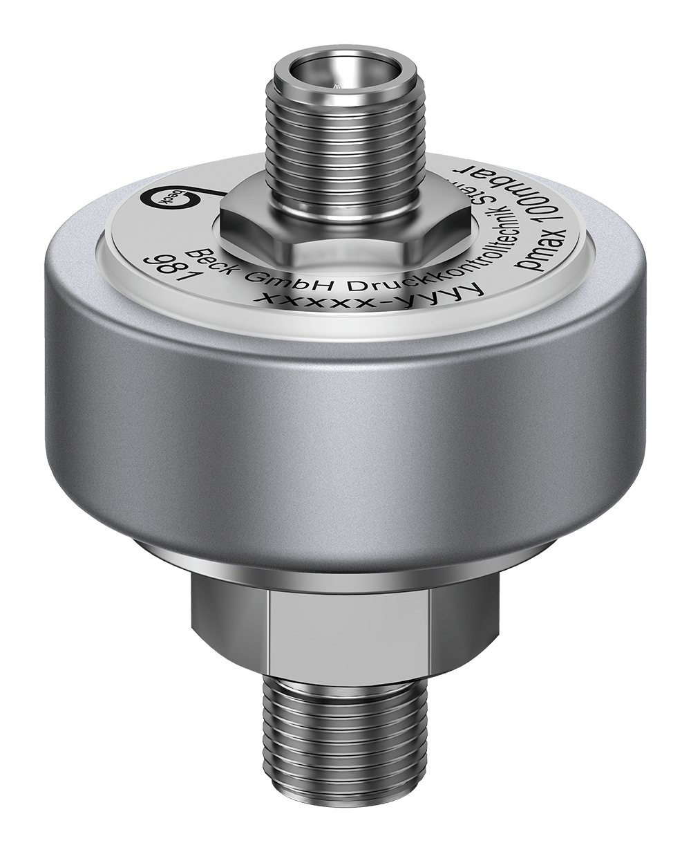 Pressure Transmitter 981 with stainless steel pressure connection